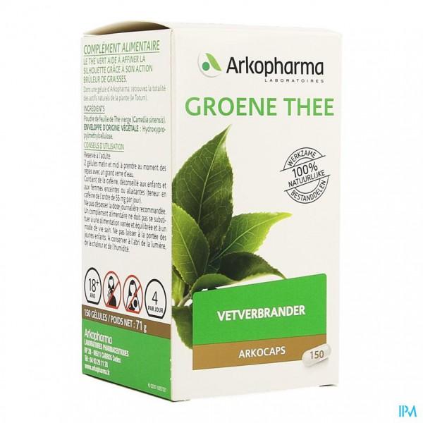 Arkocaps Groene Thee (camiline)plantaardig 150