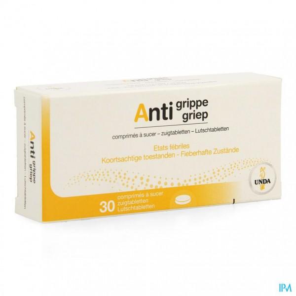 Anti Grippe Comp 30 Unda
