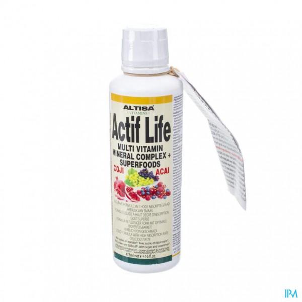 Altisa Actif Life + Goji 473ml