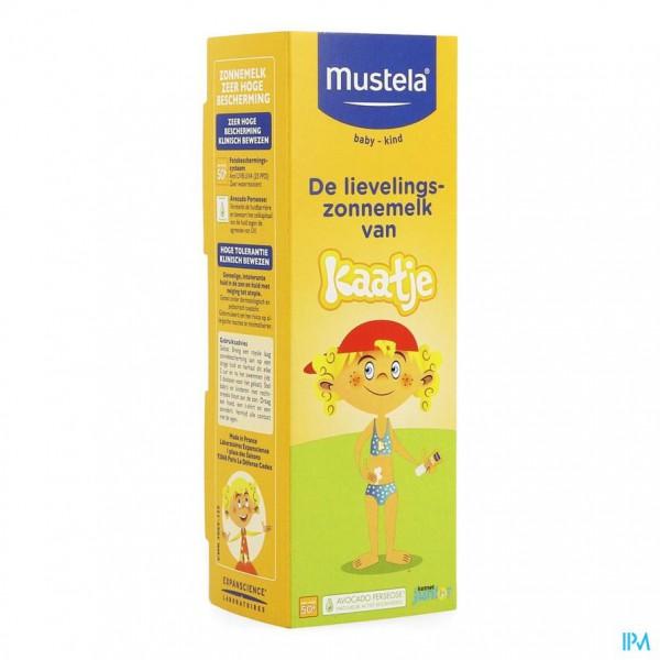 Mustela Bb Sl Melk Gelaat Z.hoge Besch.50+ 40ml
