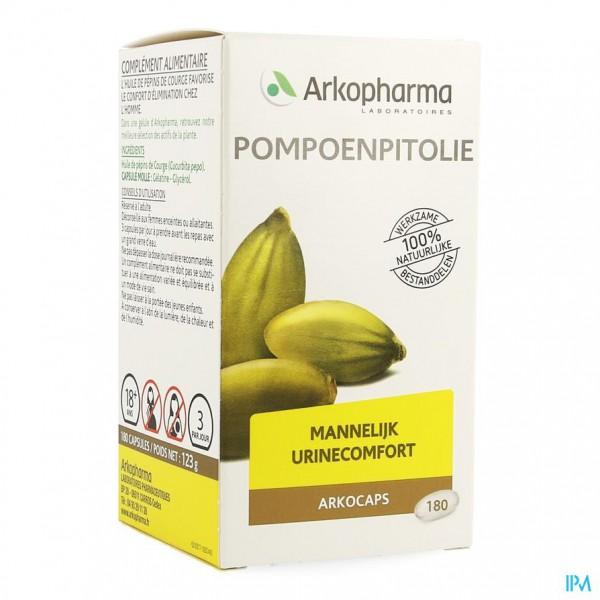 Arkocaps Pompoenpitolie Caps 180